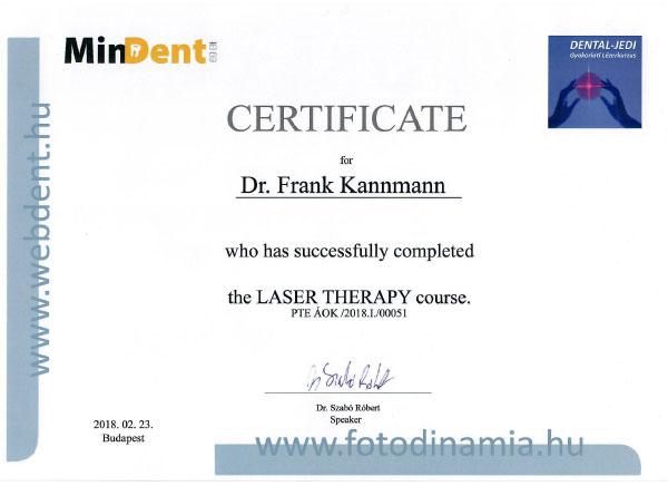 Zertifikate - HD-dental | Deutsche Zahnarztpraxis in Ungarn
