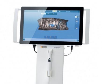 Digitaler Zahnabdruck-Scanner im Einsatz