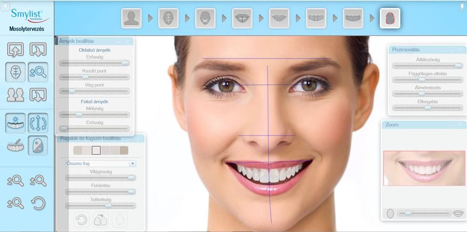 Beispiel für Smylist-Software